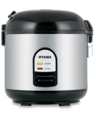 Oyama 5-Cup Stainless Steel Rice Cooker