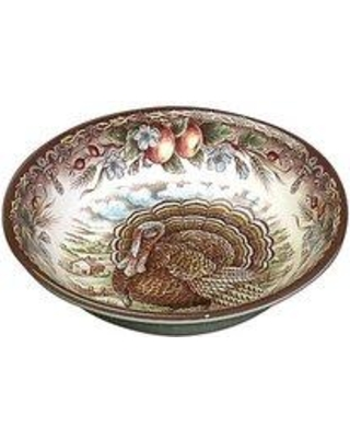 The Holiday Aisle® Turkey 8 oz. Cereal Bowl (Set of 2) UIMB6830