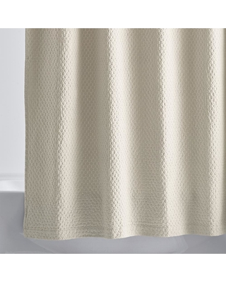 The Company Store Legends Sterling 72 in. Sand Shower Curtain, Brown