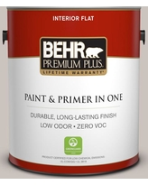 BEHR Premium Plus 1 gal. #790A-3 Road Runner Flat Low Odor Interior Paint and Primer in One