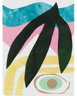 """East Urban Home 'South Beach IV' Acrylic Painting Print on Wrapped Canvas W001145211 Size: 19"""" H x 14"""" W x 2"""" D"""