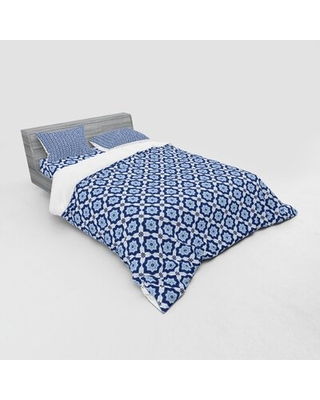 Moroccan Duvet Cover Set East Urban Home Size: Queen Duvet Cover + 3 Additional Pieces