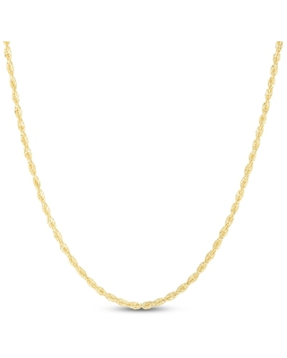 """Jared The Galleria Of Jewelry Rope Chain Necklace 14K Yellow Gold 20"""""""