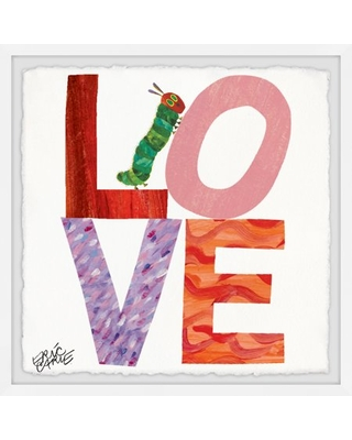 Marmont Hill Love Caterpillar by Eric Carle Framed Wall Art