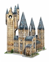 Wrebbit Harry Potter Collection - Hogwarts - Astronomy Tower 3D Puzzle- 875 Pieces - Brown