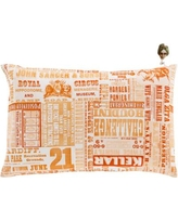 """Latitude Run Canonsburg Throw Pillow LTDR7967 Size: 20"""" H x 20"""" W x 4"""" D, Color: Rust/Pastel Pink/Tangerine/Forest/Peach"""