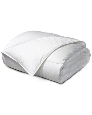 Feather & Down Reversible Full/Queen Comforter in White