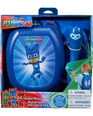 AMAZON. Little Kids PJ Masks Catboy Water Blaster Backpack Water Squirter  Toy bf4101b36654