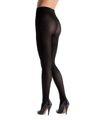 Women's Oroblu Different 80 Tights, Size Large - Black