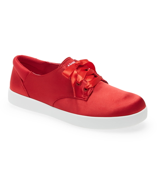 Women's Alegria Poly Sneaker, Size 8-8.5US - Red