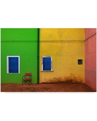 """Trademark Fine Art 'Color Land' Photographic Print on Wrapped Canvas 1X05613-CGG Size: 30"""" H x 47"""" W x 2"""" D"""