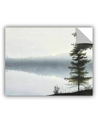 """ArtWall Morning Fog Hires by Ken Kirsh Photographic Print Removable Wall Decal 0kir007a Size: 24"""" H x 32"""" W x 0.1"""" D"""