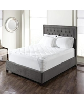 Sure Fit Breathable Mesh Polyester Mattress Pad SF4 Size: Full
