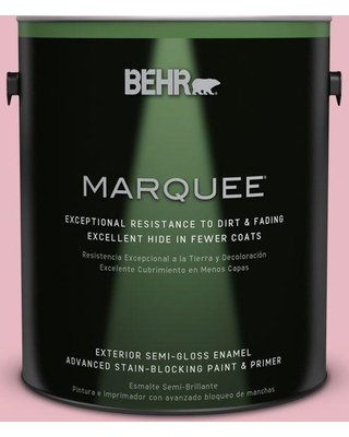 BEHR MARQUEE 1 gal. #M150-2 Peppermint Stick Semi-Gloss Enamel Exterior Paint and Primer in One