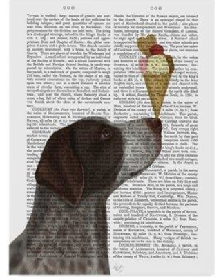 """Winston Porter 'German Shorthaired Pointer Ice Cream Text' Graphic Art Print on Wrapped Canvas WNPO3738 Size: 19"""" H x 14"""" W x 2"""" D"""