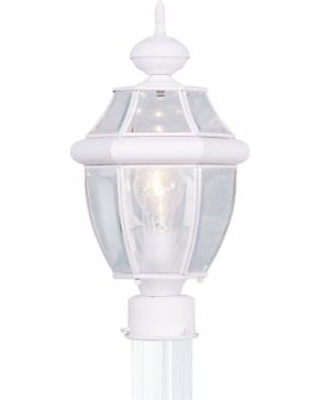 Livex Lighting Monterey 16 Inch Tall 1 Light Outdoor Post Lamp - 2153-03