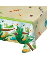 Creative Converting Birthday Bugs Basic Paper Disposable Tablecloth DTC346239TC