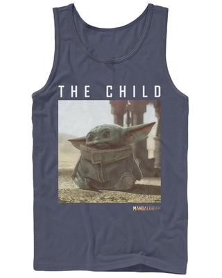 Star Wars The Mandalorian The Child Text Photoreal Tank