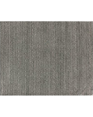 Exquisite Rugs Hand-Woven Wool Black Area Rug 3433- Rug Size: Rectangle 10' x 14'