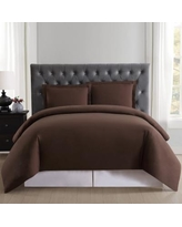 Truly Soft Everyday Duvet Cover Set, Brown