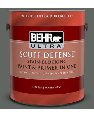 Remarkable Deals On Behr Ultra 1 Gal Ppu25 02 Black Locust Extra Durable Flat Interior Paint And Primer In One