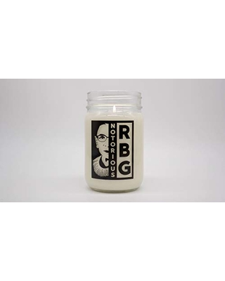 Notorious RBG Candle | Coconut Wax Natural Candle | Non-Toxic