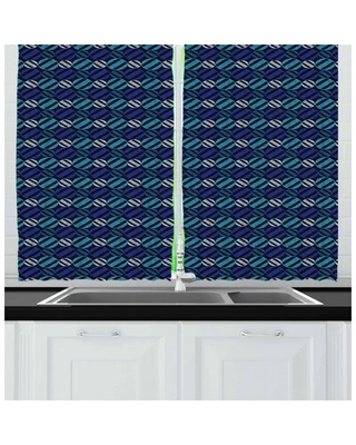 "55"" Kitchen Curtain East Urban Home"