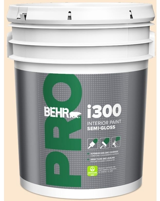 Sales On Behr Pro 5 Gal M230 2 Fair Ivory Semi Gloss Interior Paint