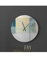 Savings On Chirpy Instinctive Abstract Metal Wall Clock Ebern Designs Size Large