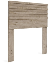 Twin Oliah Panel Headboard Natural - Signature Design by Ashley