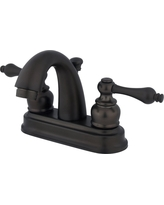 Restoration Classic Bathroom Faucet Oil Rubbed Bronze - Kingston Brass