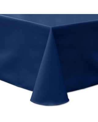 Ultimate Textile Twill 90-Inch x 156-Inch Oblong Tablecloth in Navy