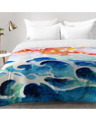 East Urban Home Tides Of Time Comforter Set EAHU7224 Size: Full/Queen