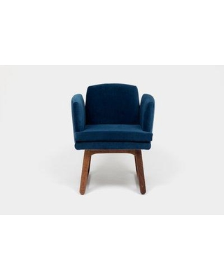 ARTLESS Allison Sled Base Upholstered Dining Chair A-A-2- Upholstery Color: Admiral