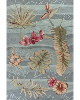 """349759 5' x 7'6"""" Polyester Area Rug in"""