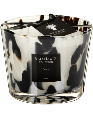 Baobab Collection - Scented Candle - Black Pearls - 10cm