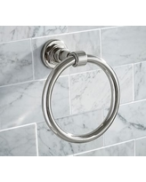 Benchwright Towel Ring, Polished Nickel