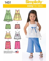 AA Simplicity Creative Patterns 1507 Toddlers and Childs Special Occasion Dress 1//2-1-2-3