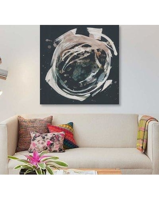 "East Urban Home 'Molten Orbit II' Graphic Art Print on Canvas EBHS5388 Size: 26"" H x 26"" W x 1.5"" D"