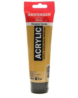 Amsterdam Standard Series Acrylic Paint Raw Sienna 120 Ml [Pack Of 3] (3Pack 100515138) | Quill