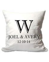 Don T Miss Sales On Fulford Couples Initials Throw Pillow Cover Gracie Oaks Customize Yes
