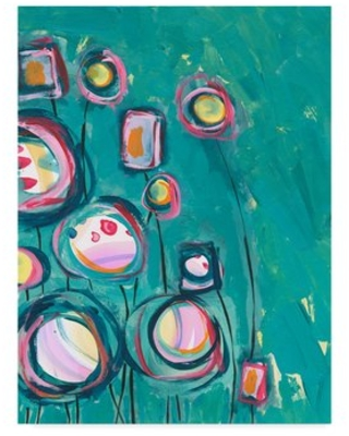 """'Pick Me' Acrylic Painting Print on Wrapped Canvas Trademark Fine Art Size: 47"""" H x 35"""" W x 2"""" D"""