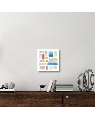 """East Urban Home 'Comares II' Graphic Art Print on Canvas UBAH5956 Size: 18"""" H x 18"""" W x 1.5"""" D"""
