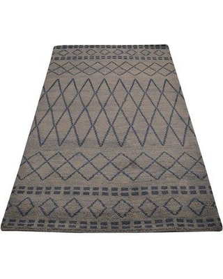 Foundry Select Cheswick Hand-Knotted Wool Brown Area Rug FNDS2703 Rug Size: Rectangle 5' x 8'