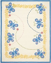 Harriet Bee Claro Butterfly Area Rug HBEE1344 Rug Size: Rectangle 5' x 8'