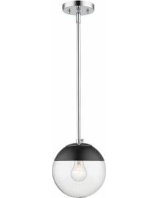 Golden Lighting Dixon 7 Inch Mini Pendant - 3219-S CH-BLK