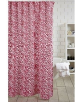 Amity Home Zebra Stripe 100% Cotton Shower Curtain SC1 Color: Pink