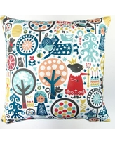 Artisan Pillows Christmas Nutcracker Winter Forest Throw Pillow XM-007-01