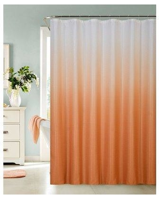 Hashtag Home Halsted Spa Bath Single Shower Curtain W000494676 Color: Gold