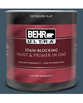 Savings On Behr Ultra 1 Gal 530f 7 Rain Storm Flat Exterior Paint And Primer In One